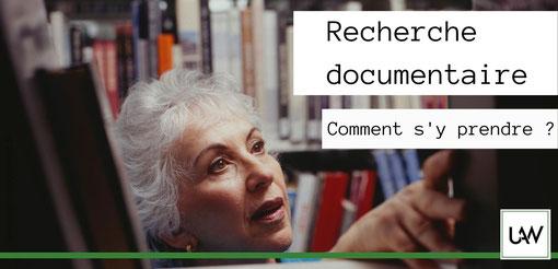 recherche documentaire en rédaction web