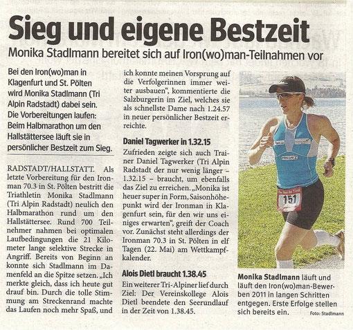BZ Berich zum Hallstättersee Halbmarathon