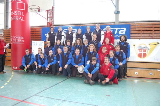 Les équipes de ligue à l'Open de France à Challes les Eaux, 2011