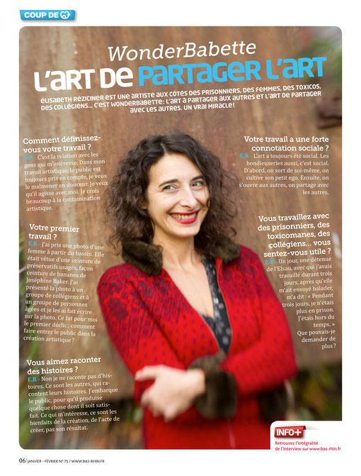 magazine du Conseil Régional Alsace - 2012