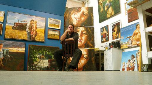 Im neuen Atelier 2011