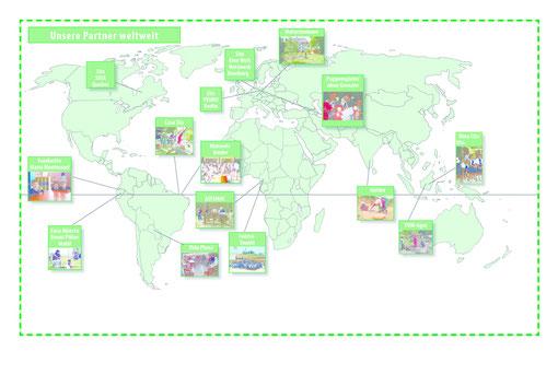 SD-Projektpartner auf der Welt