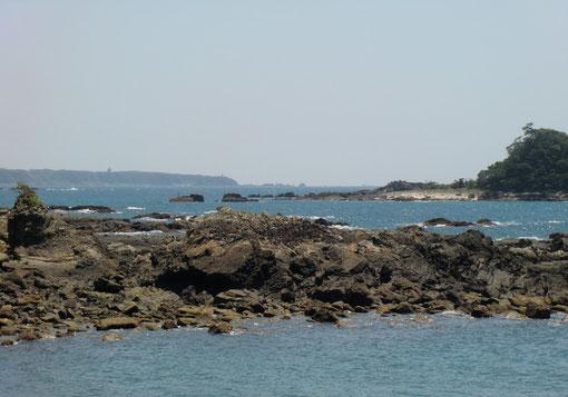 潮岬の遠望
