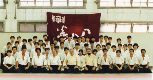 平成元年(1989)/9月 創部25周年記念式典に先立つ夏期二次合宿(於養心館)