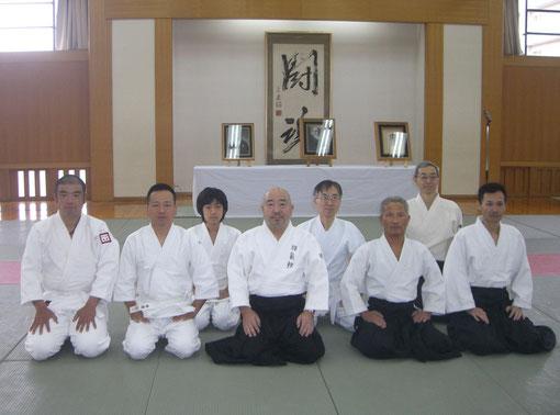 2009/11/22於豊中市立武道館ひびき 神氣館からの参加者