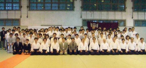 平成21年(2009)/11月 創部45周年記念OB稽古(於養心館)