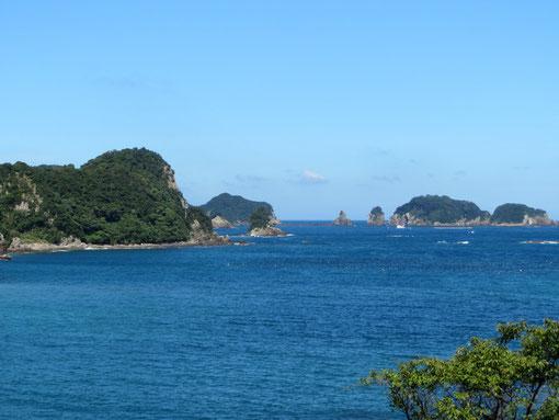 湯川から紀の松島