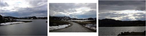 Ganz viel Landschaft auf dem Weg zur Grenze