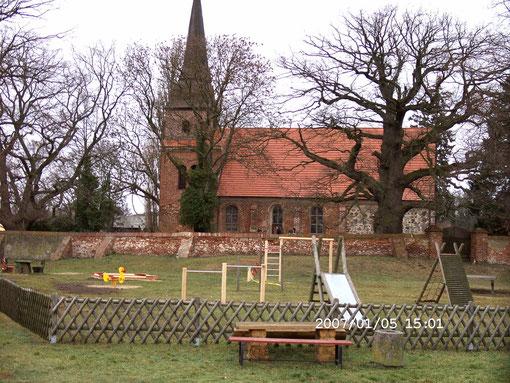 Kirche von Mellenthin auf Usedom