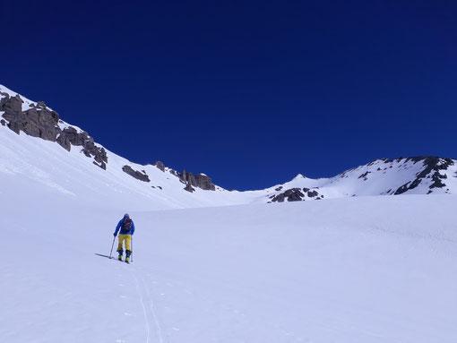 Skitouren, Ofenpass, Graubünden, Scuol, Piz Vallatscha