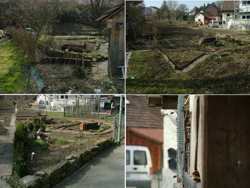 Arbeitseinsatz 11+12.03.2011 - Der Garten wird für den Frühling fit gemacht