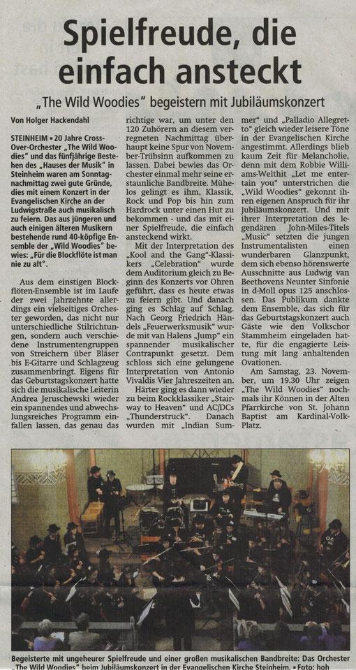 1. Jubiläumskonzert Nov. 2013