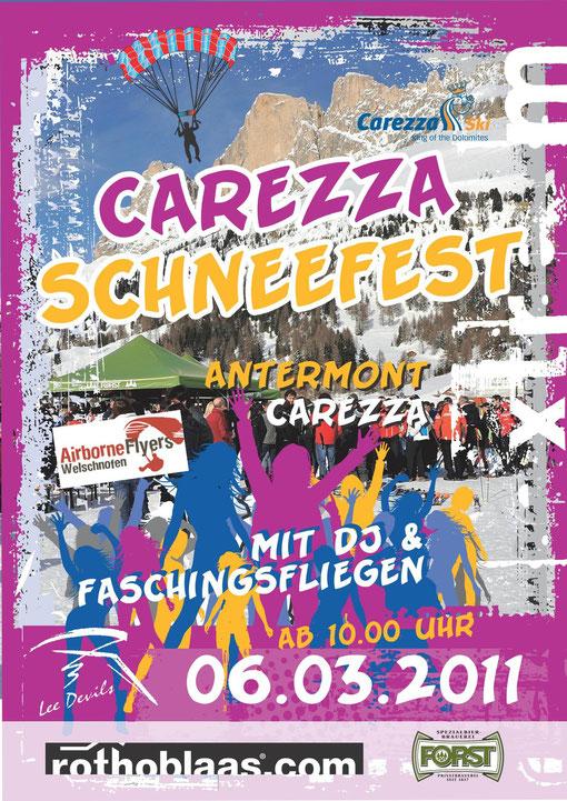Carezza Schneefest und Faschingsfliegen 2011