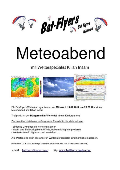 Meteoabend 2012