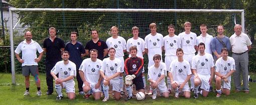 Teamfoto 2. Mannschaft vorletztes Spiel der B- Klasse