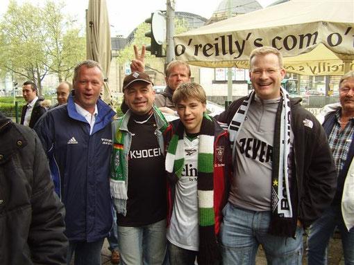 ...zum Bundesligaspiel Eintracht Frankfurt gegen Borussia Mönchengladbach
