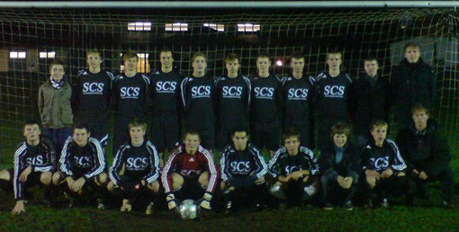 Teamfoto A- Jugend 2008/ 2009