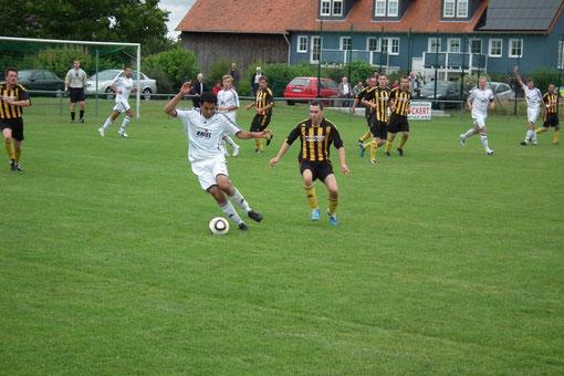 Hakan Keskin im Spiel gegen den SV- Mardorf