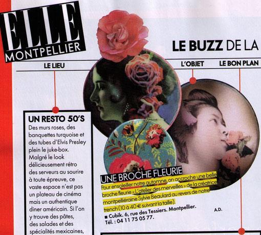 """""""Elle"""" Octobre 2011"""