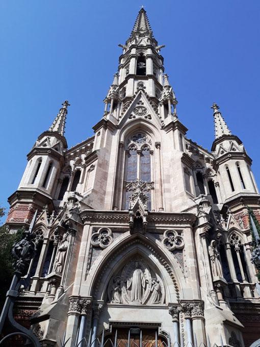 Церковь и монастырь Салезианок в Барселоне