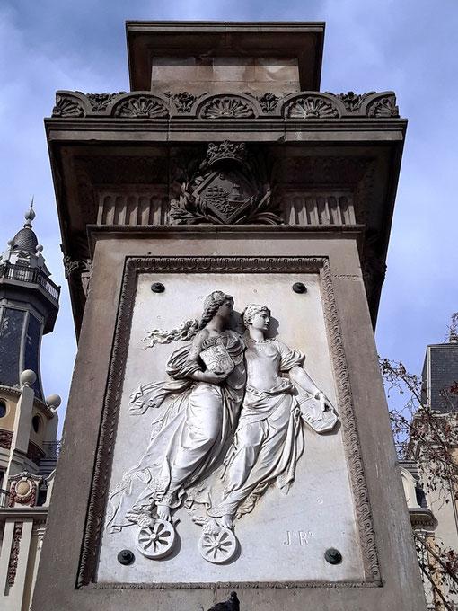 Памятники Барселоны. Лопес и Лопес. Пешеходные экскурсии по Барселоне