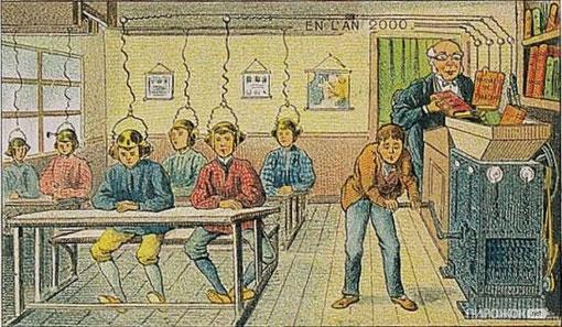 Заглядывая в будущее: из 1900 года в 2000!