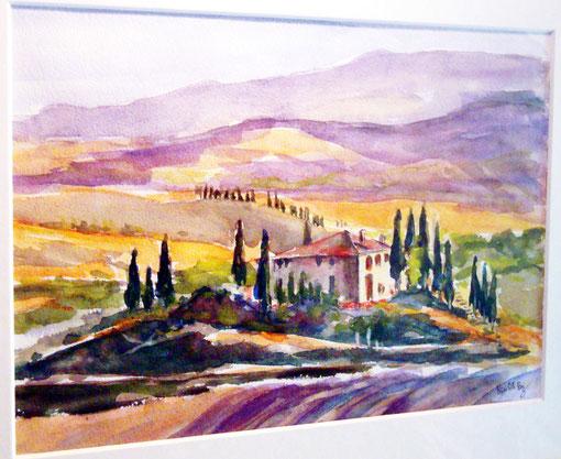 Es muss nicht die Toscana sein ...