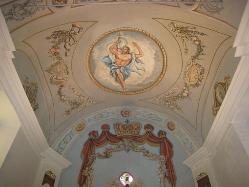 Olmeto di Tuda- Eglise de l'Assomption- Hic Jesus assumptus est
