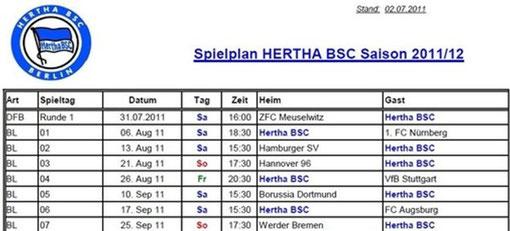 Sonstiges 2011 Hertha Bsc Fanclub Die Hauptstadt Crew