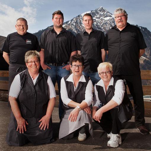 Das Team der Metzgerei Lengacher in Aeschi