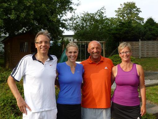 v.l. Joachim, Petra, Thomas und Sabine