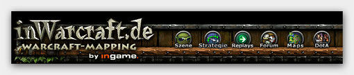 inWarCraft.de WC3 WarCraft3 Mapping Homepage Tools Maps