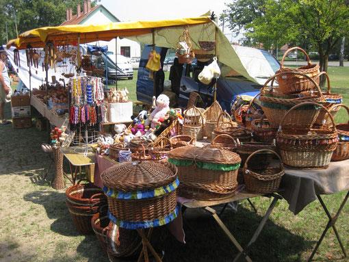 Jahrmarkt in Ruzsa