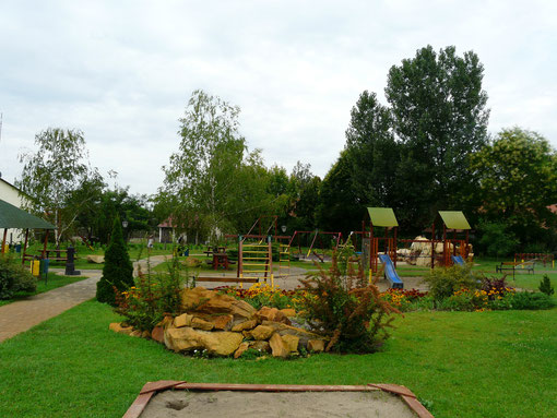 Spielplatz in Ruzsa