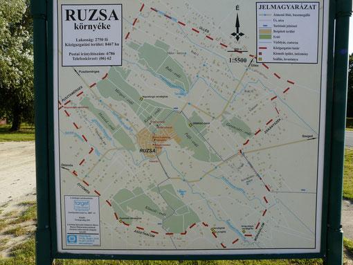 Ruzsa - Dorf und Tanya`s