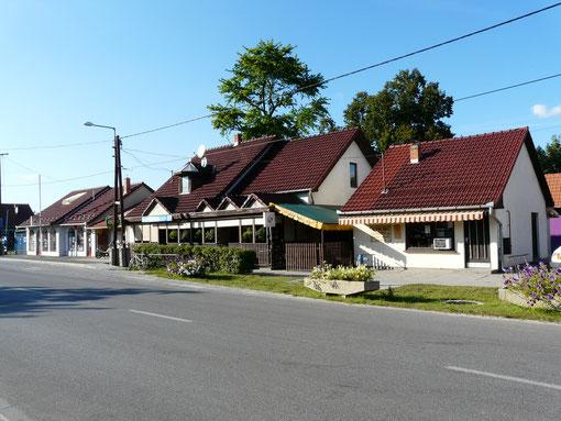 Hauptstraße Ruzsa - Pusztamérges