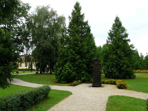 kleiner Park in Ruzsa