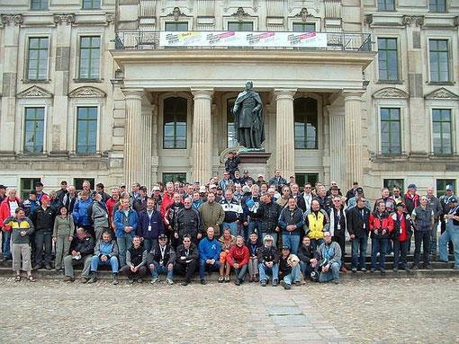 Gruppenfoto Schloss Ludwigsburg