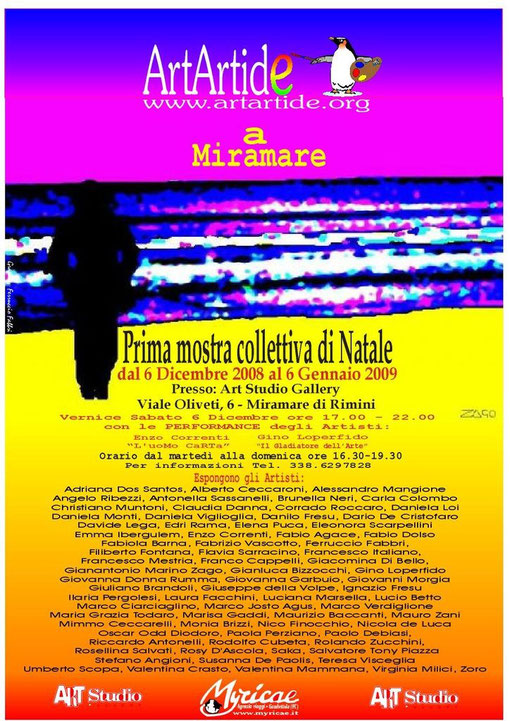 Mostra collettiva organizzata da Gianantonio Marino Zago,Ferruccio Fabbri e Paola Bernabini.