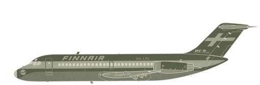 DC-9-Srs10/Courtesy: Finnair