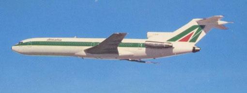 Alitalia ersetzte ihre 727-Flotte ab 1983 durch die MD-82/Courtesy: Alitalia