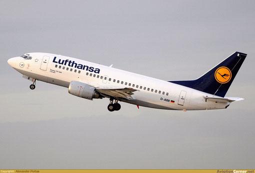 Die 737-500 im Lufthansa-Farbkleid sind ein (noch) sehr vertrauter Anblick/Courtesy: Alexander Portas