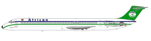 MD-82 der African Express Airways/Courtesy and Copyright: md80design