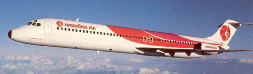 Hawaiian Air Douglas DC-9-51/Courtesy: Hawaiian Air