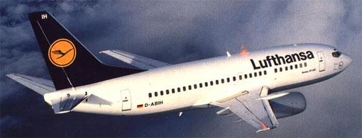 Lufthansa wurden der wichtigste Betreiber der Boeing 737-500 in Europa/Courtesy: Lufthansa