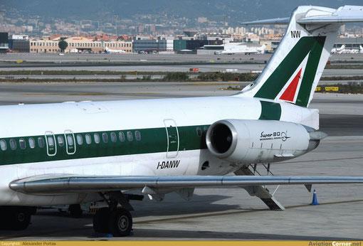 """Einst Standardmodell und Arbeitspferd bei Alitalia: die """"Super 80""""/Courtesy: Alexander Portas"""