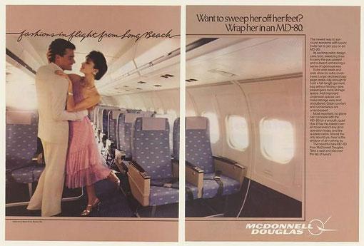 Das Kabinendesign überlebte die 1980er und bewies dadurch Zeitlosigkeit/Courtesy: McDonnell Douglas
