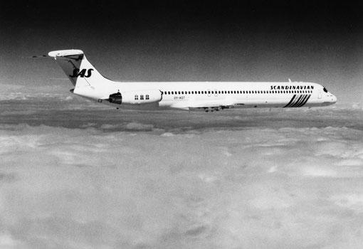 SAS wurden der größte DC-9/MD-80/-90-Betreiber in Europa/Courtesy: McDonnell Douglas