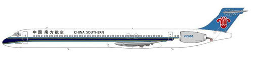 China Southern Airlines MD90-30/Courtesy and Copyright: md80design