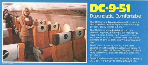 Die DC-9-50 präsentierte sic schon mit MD-80-Kabinenwänden!/Courtesy: McDonnell Douglas